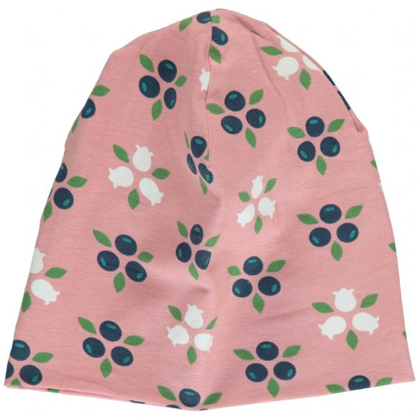 Maxomorra Hat Velour Blueberry Blossom